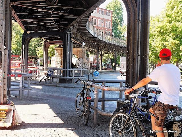 att cykla i Berlin