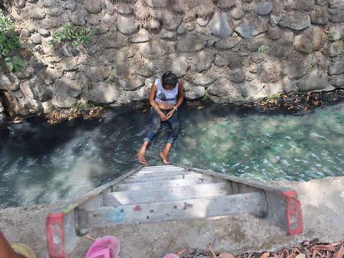 CAYÓ AL CANAL DE AGUAS NEGRAS