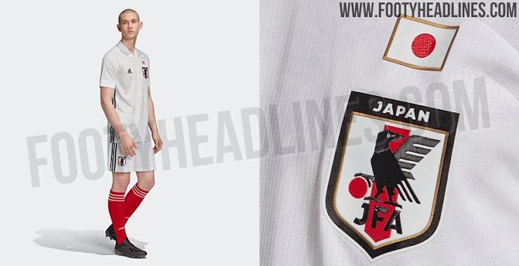 adidas Mens Soccer Japan Away Jersey