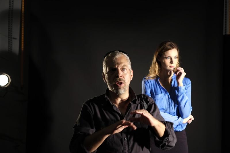 Fotografia del fotografo Max Angeloni e della modella Silvia Sera