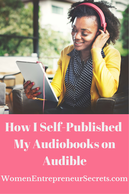 How I self-published my audiobooks on audible