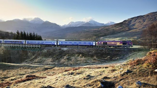 The Caledonian Express - Inverness part 2
