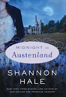 Book cover of Midnight in Austenland by Shannon Hale