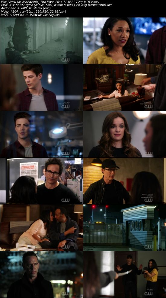 Screen Shoot of The Flash 2014 S04E22 720p HDTV