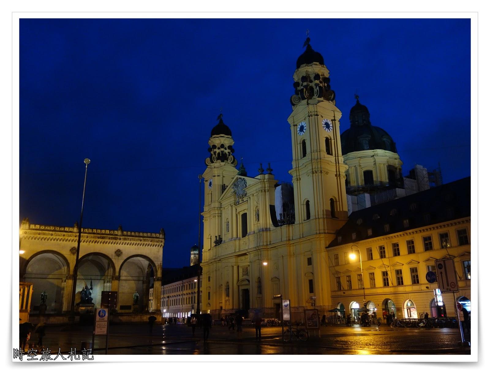 慕尼黑景點 (Part 2): 統帥堂、鐵阿提納教堂、慕尼黑王宮