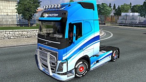 Volvo 2012 Blue Skin mod by Ghass72