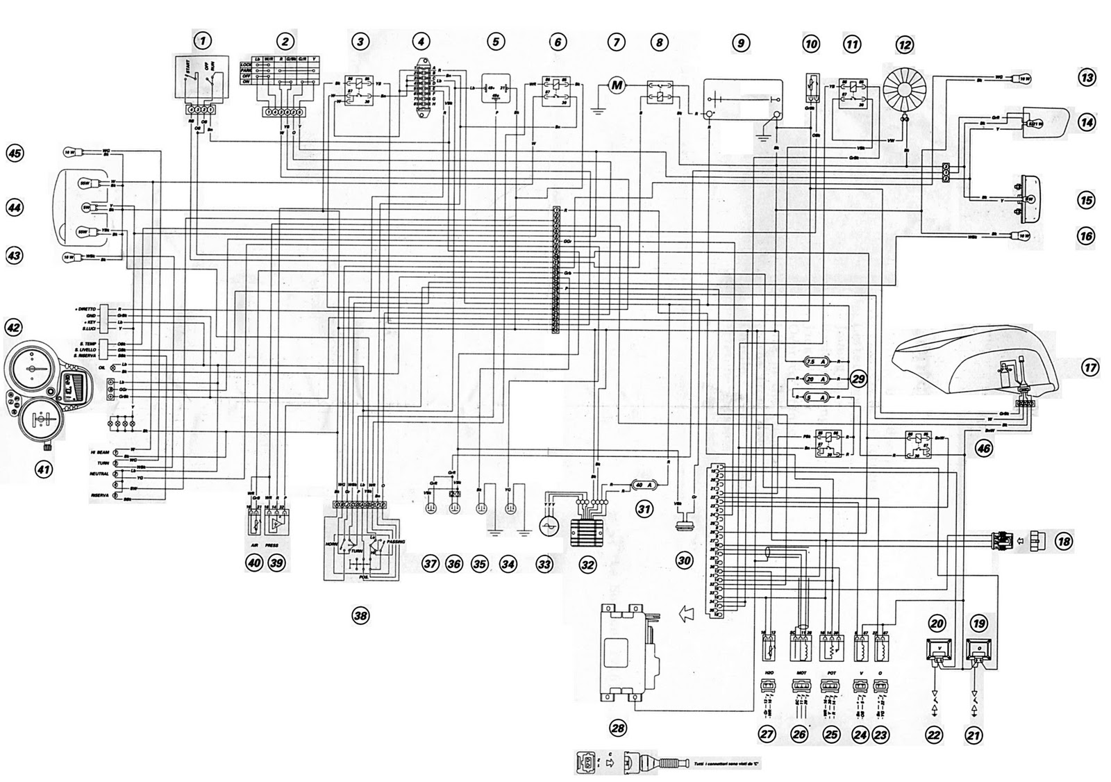 bike wiring wiring diagram schematic
