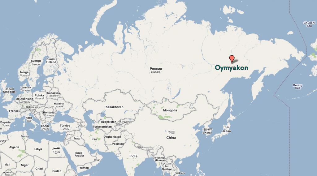 Oymyakon Russia Map Oymyakon Russia Map | compressportnederland Oymyakon Russia Map