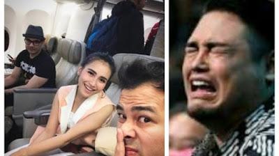 Video Ayu Ting Ting dan Raffi Ahmad Terciduk Beginian di Pesawat