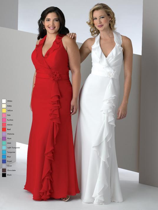 Bridal Party Dresses Plus Size Women ~ Zee Post