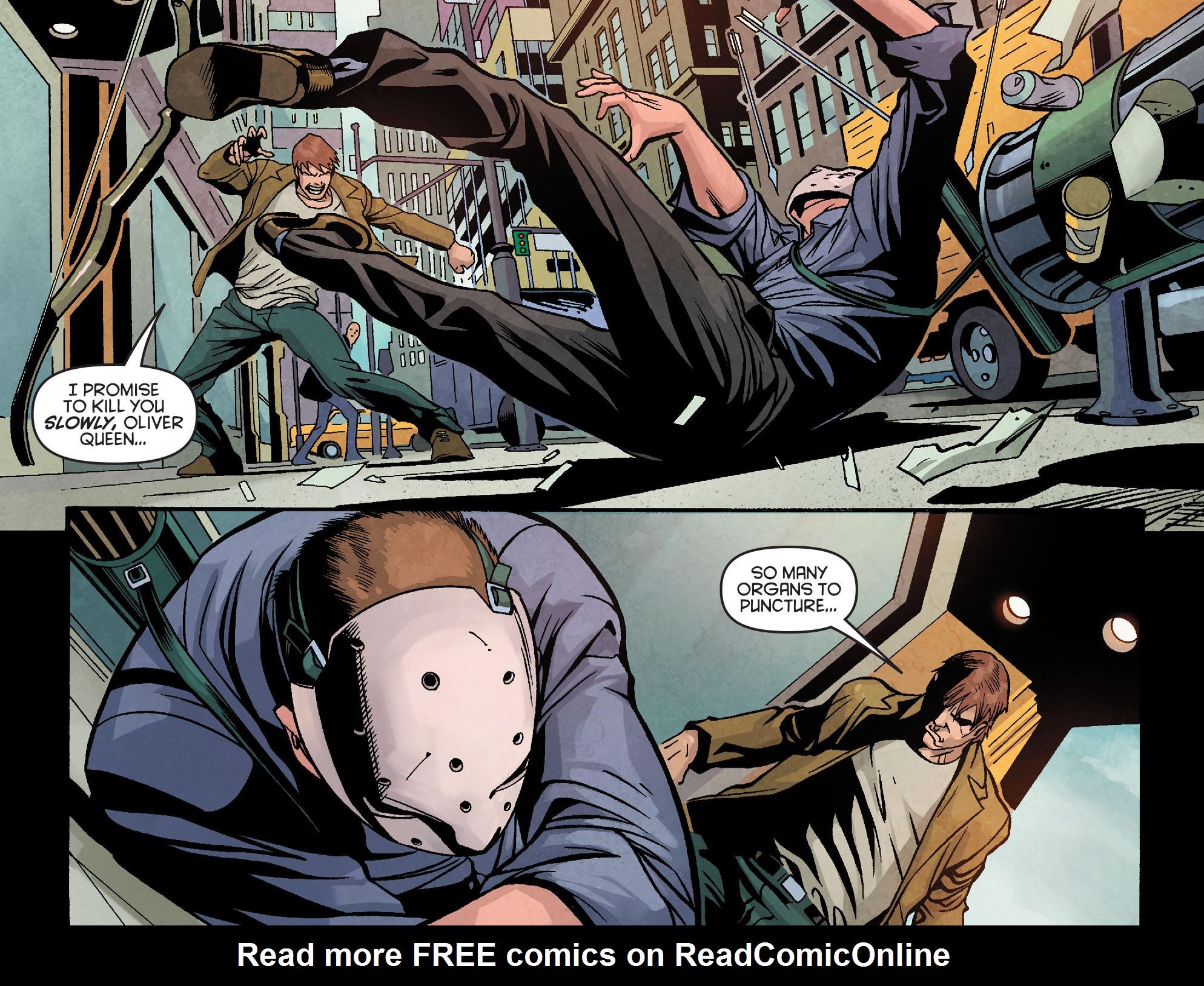 Read online Arrow: Season 2.5 [I] comic -  Issue #18 - 3