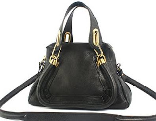 Chloe Paraty Leather Satchel Handbag