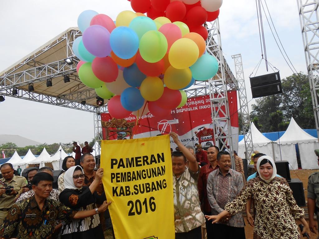 Peringati HUT RI ke 71 Tahun, Pemkab Subang Gelar Pameran Pembangunan