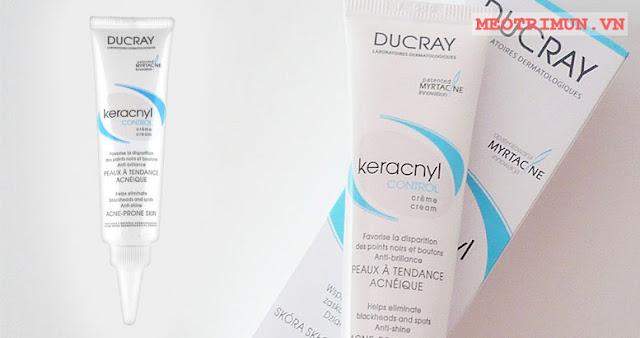 Kem trị mụn đầu đen Ducray Keracnyl Control Cream Innovation Myrtacine