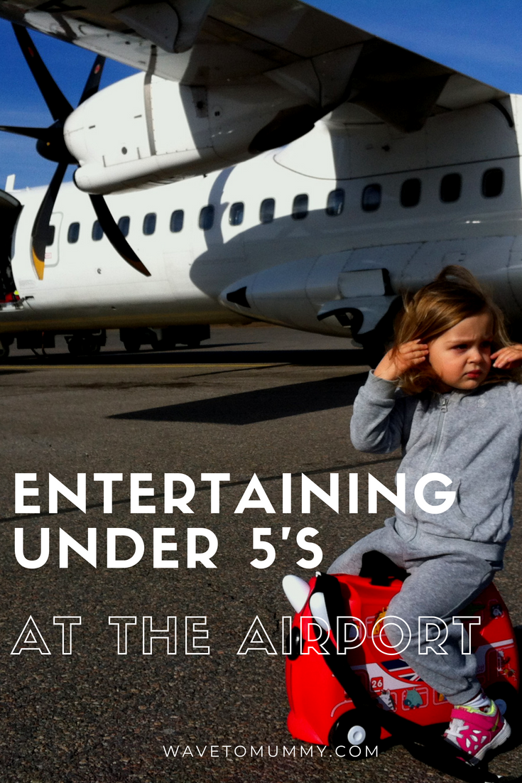 Entertaining kids at the airport can be tricky - here are top tips for families travelling by air and fun ideas when waiting for a flight with kids