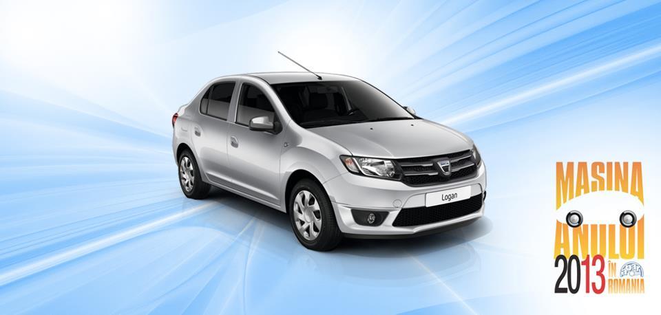 Dacia Logan: Masina Anului 2013 in RO