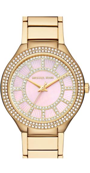 Michael Kors 'Kerry' Crystal Accent Bracelet Watch