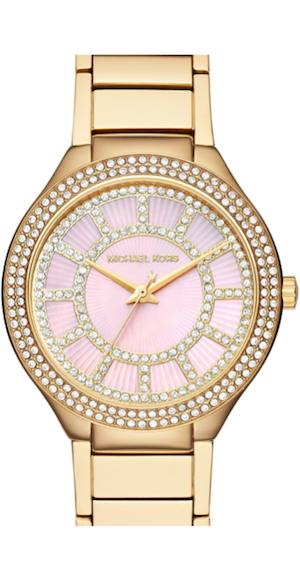 Michael Kors 'Kerry' Crystal Accent Bracelet Watch