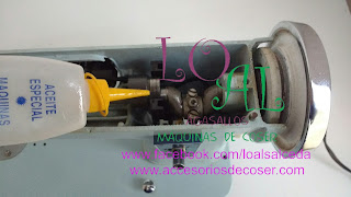 aceite maquina de cose sigma 140