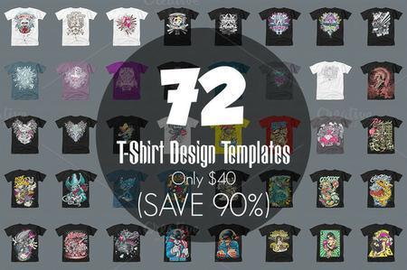 72 تصميم تيشرتات شبابي للتحميل 72 T Shirt Design Templates أجيليكا سلك سكرين