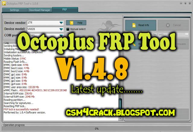 Octoplus FRP Tool V1 4 8 Latest Setup Free Download