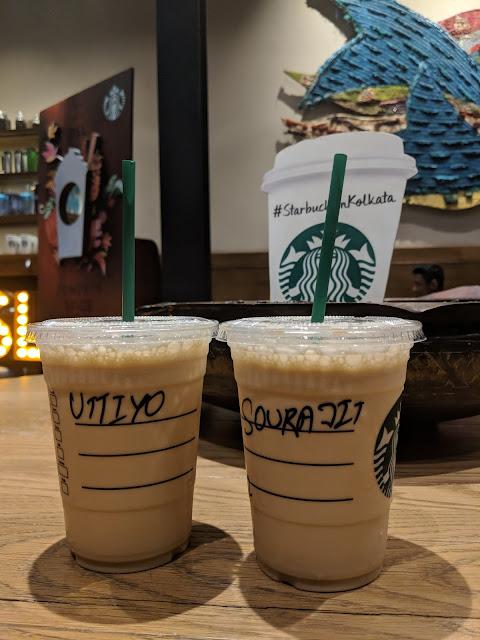 Sourajit Saha & Uttiyo Dey At Starbucks 5