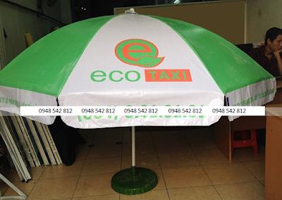 Dù quảng cáo Eco Taxi