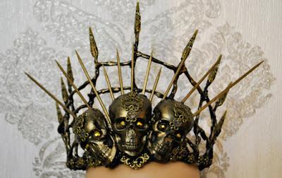 Stunning Gothic Headpieces by My Witchery in Ukraine
