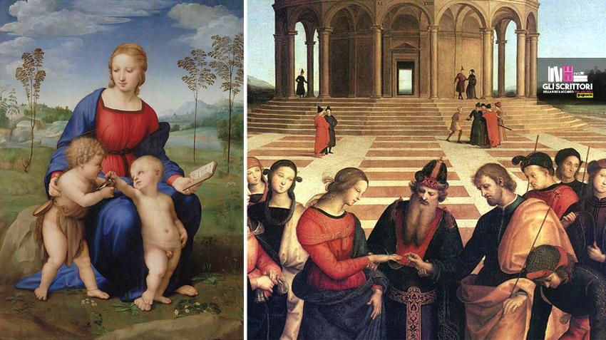 La Madonna del cardellino e il Matrimonio della Vergine