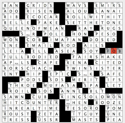 Rex Parker Does The Nyt Crossword Puzzle September 2018