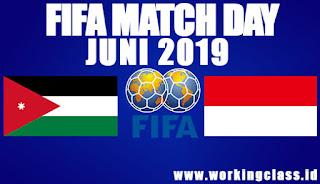 Timnas Senior vs Yordania Juni 2019