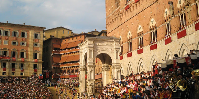July Palio 2011 on Piazza del Campo