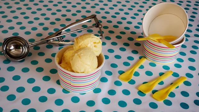 helado de mango casero fácil
