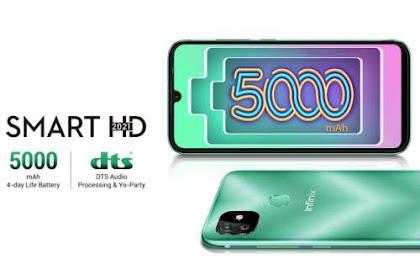 Infinix Smart HD 2021 Harga Satu Jutaan dengan Fitur Mewah