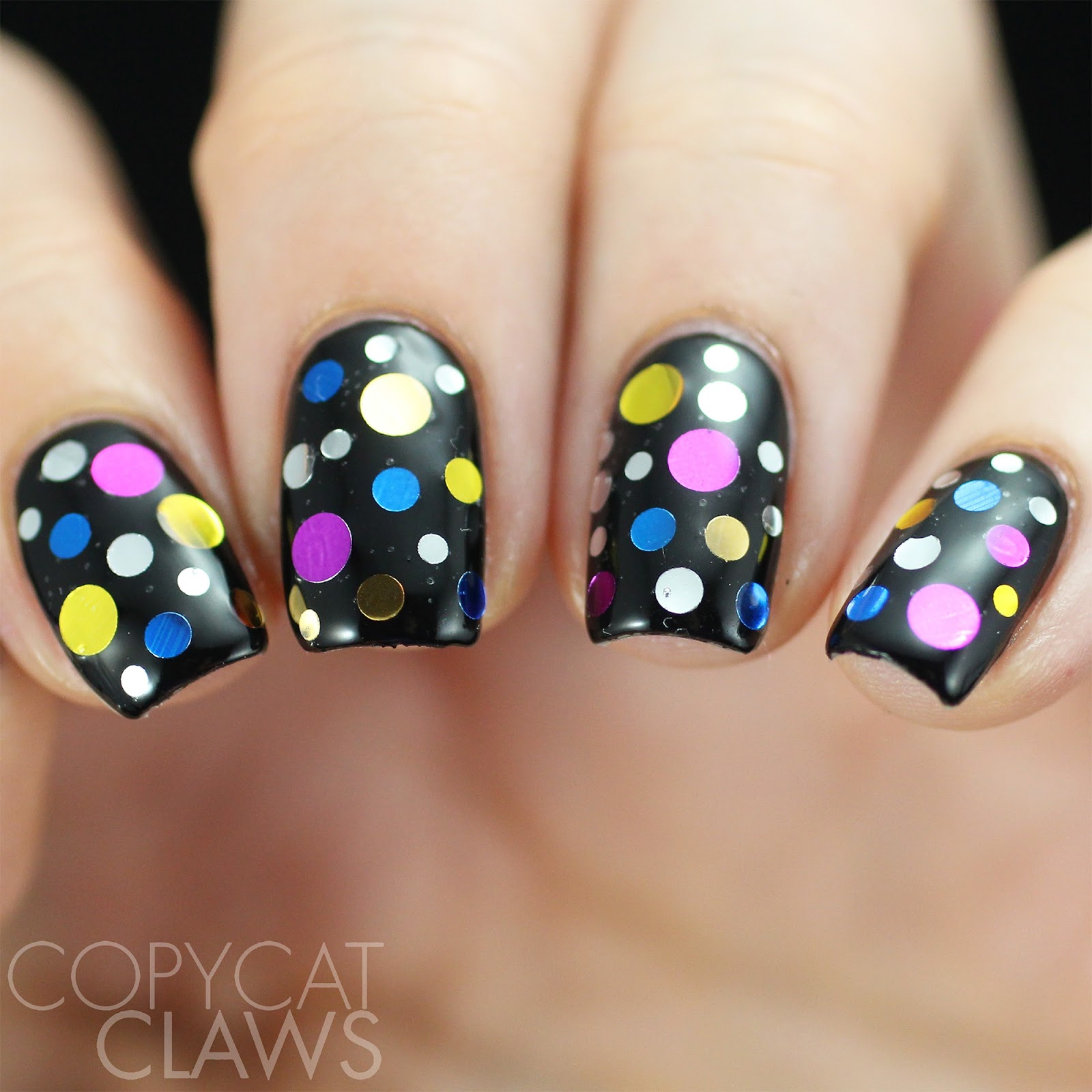 Copycat Claws: Whats Up Nails Disco Confetti