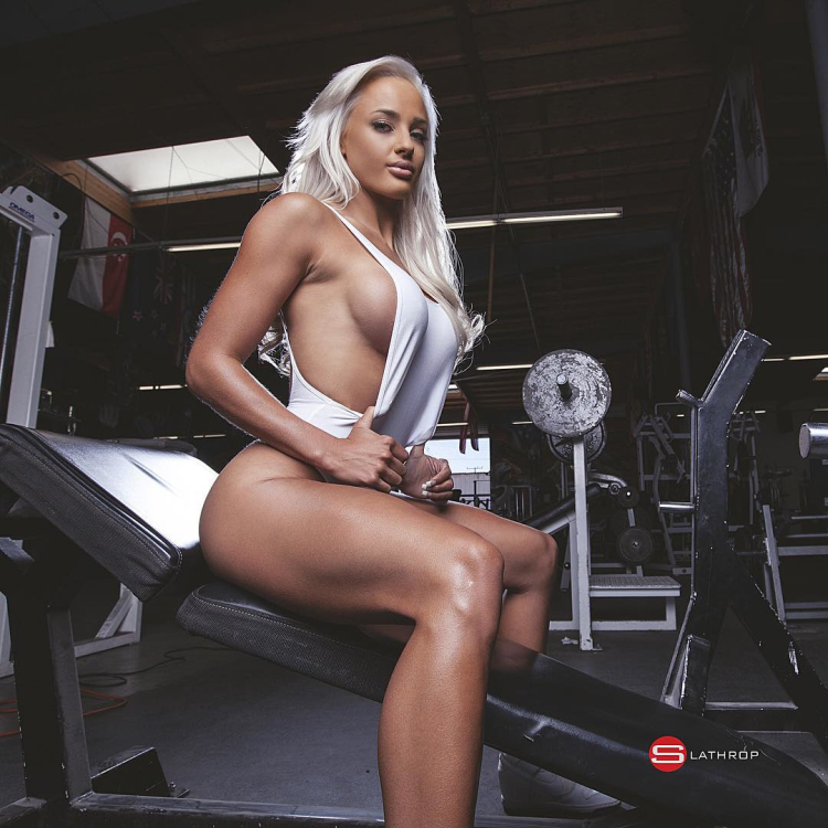Australian Fitness Model Nina Anderson