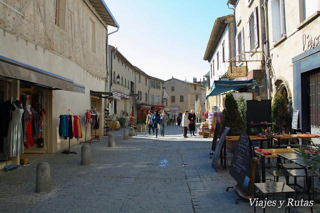 Rue Viollet le Duc de Carcassonne