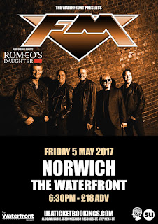 FM / Romeo's Daughter - Norwich Waterfront - 5 May 2017 poster