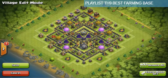Farm Base for Th9 (Anti-Hog, Gowipe and Lavaloon)
