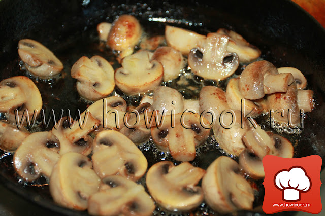 рецепт вкусного жюльена пошаговые фото