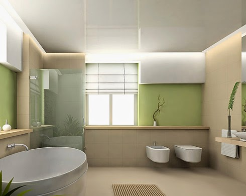 Decoración baño feng shui