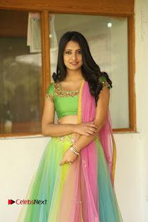 Actress Nikitha Bisht Stills in Lehenga Choli at Pochampally Ikat Art Mela Launch  0025.JPG