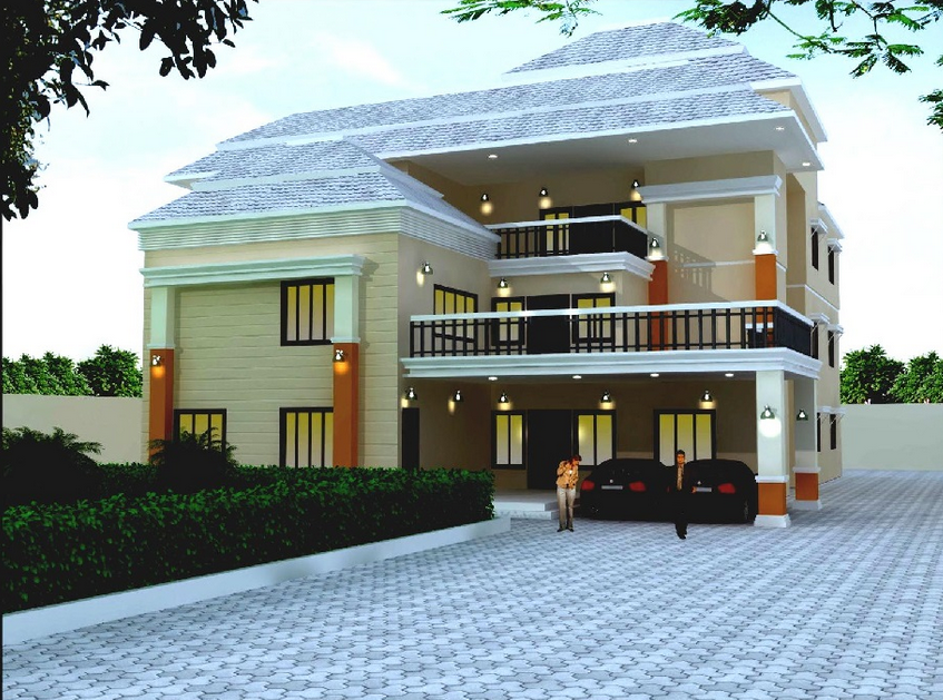 13 Model Desain Rumah Gaya Villa Minimalis Terbaik - Godean.web.id