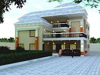 13 Model Desain Rumah Gaya Villa Minimalis Terbaik