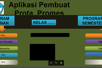 Aplikasi Pembuat PROMES dan PROTA SD/MI Kurikulum 2013