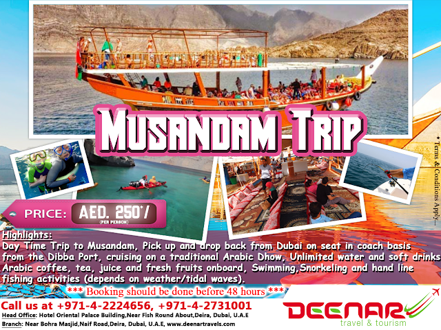 musandam tour, deenartravels