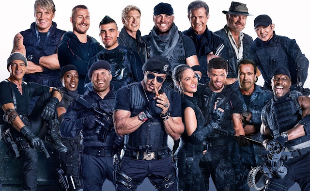 Os Mercenarios vai encerrar a franquia em 2018