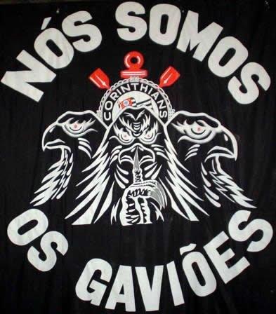 T Dark Side Mascote Do Corinthians