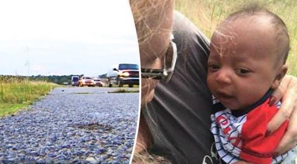 Jumpa Bayi Usia Sebulan Ini Di Tepi Jalan Raya Bawah Panas Terik. Apa Yg Ada Bersama Bayi Itu MENGEJUTKAN !!!