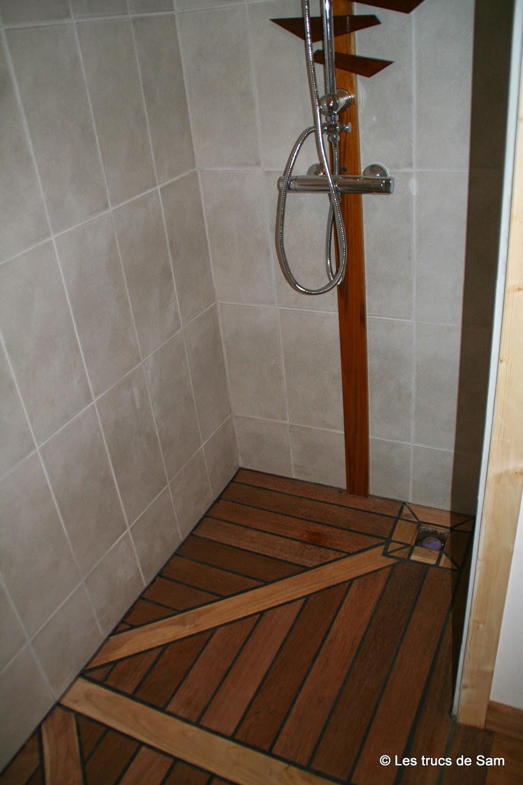 les trucs de sam que faire avec des chutes de parquets en bois exotiques. Black Bedroom Furniture Sets. Home Design Ideas